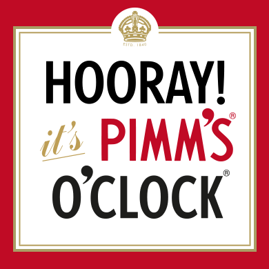 its pimms time